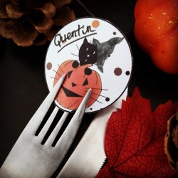 Marque-place Halloween,...