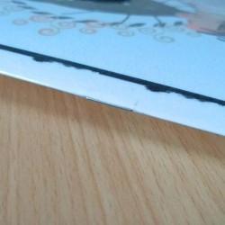 Petit carnet de notes chat, Mamie chat, tête de chat noir, A5, détail 2, Tribu de chats
