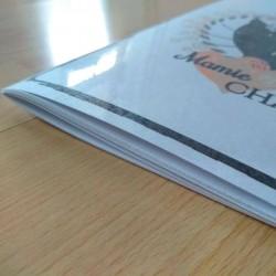 Petit carnet de notes chat, Mamie chat, tête de chat noir, A5, détail 3,Tribu de chats