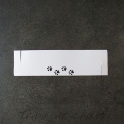 rond-de-serviette-mariage-papier-pattes-de-chat-tribu-de-chats