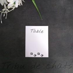 Carton-numero-de-table-mariage-tribu-de-chats
