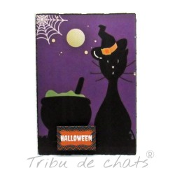 Carte double d'Halloween,...