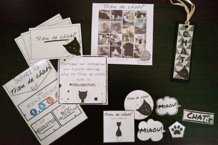 Kit ambassadeur de la marque Tribu de chats