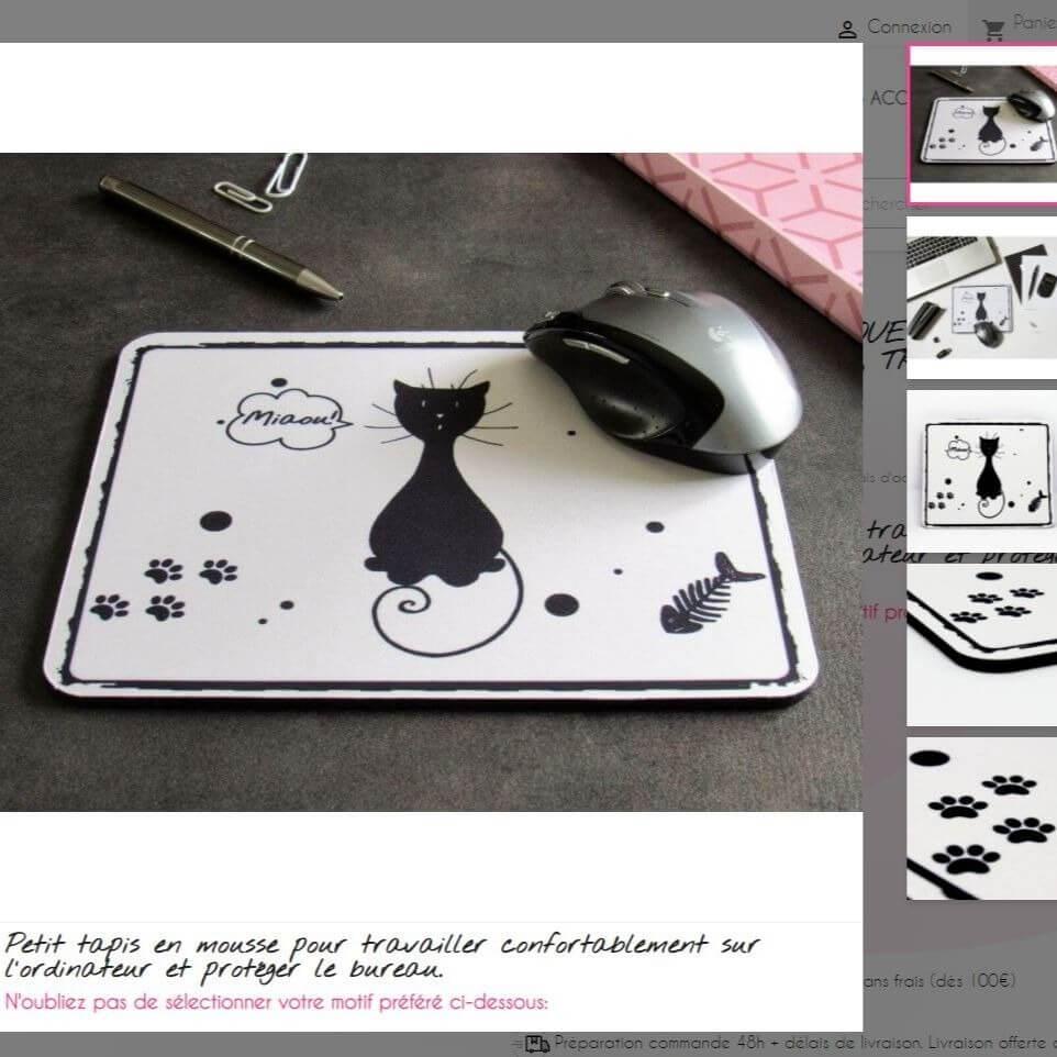 Multitudes de photos des produits chat sur le site spécialisé de la Tribu de chats, marque pour amoureux des chats